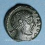 Monnaies Carnutes (région de Chartres) - Pixtilos (vers 40-30 av. J-C). Bronze à la déesse assise, classe V