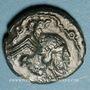 Monnaies Catuslogues (Région d'Eu). Bronze au type de Bracquemont, var 1 (vers 60-25 av. J-C)