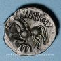 Monnaies Catuslogues (Région d'Eu). Bronze (vers 60-25 av. J-C)