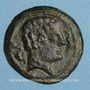 Monnaies Celtibérie. Arekorata. As, 2e siècle av. J-C