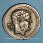 Monnaies Celtibérie. Bolskan. Denier, 1er siècle av. J-C