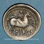 Monnaies Celtibérie. Bolskan. Denier, 2e siècle av. J-C