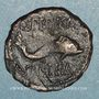 Monnaies Celtibérie. Carteia. Semis, 2e moitie du 2e siècle av. J-C