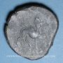 Monnaies Celtibérie. Castulo (Andalousie) (fin du 3e siècle av. J-C). As