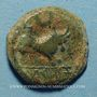 Monnaies Celtibérie. Castulo. Semis, 1er siècle av. J-C