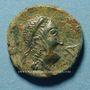 Monnaies Celtibérie. Castulo. Semis, début 1er siècle av. J-C