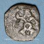 Monnaies Celtibérie. Iles Baléares. Ebusus (vers 214-150 av. J-C). Petit bronze (cuarto)
