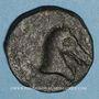 Monnaies Celtibérie. Monnayage hispano-carthaginois. Chalque, 221-218