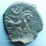 Monnaies Coriosolites (1ère moitié du 1er siècle av. J-C). Statère de billon de la classe I