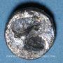 Monnaies Gaule. Provence (vers 525-475 av. J-C). Obole à l'hippalectryon à droite