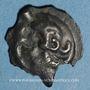 Monnaies Haute et Moyenne-Seine. Potin au guerrier courant, 1er siècle av. J-C