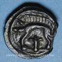 Monnaies Leuques (région de Toul) (2e moitié du 1er siècle av. J-C). Potin de classe Ig