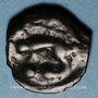 Monnaies Leuques. Région de Toul. Potin classe Ia, 1er siècle av. J-C
