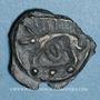 Monnaies Leuques. Région de Toul. Potin classe ID, 1er siècle av. J-C