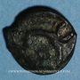 Monnaies Leuques. Région de Toul. Potin classe Ie, 1er siècle av. J-C