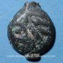 Monnaies Leuques. Région de Toul. Potin classe Ij, 1er siècle av. J-C