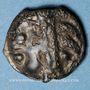 Monnaies Leuques. Région de Toul. Potin classe Im, 1er siècle av. J-C