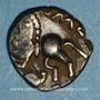 Monnaies Leuques. Région de Toul - Solima. Quinaire, vers 75-40 av. J-C