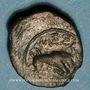 Monnaies Marseille (150-100 av. J-C). Petit bronze au taureau