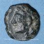 Monnaies Marseille (150-100 av. J-C). Très petit bronze au taureau