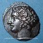 Monnaies Marseille (310-250 av J-C). Obole à l'Apollon avec favoris