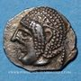 Monnaies Marseille (460-440 av. J-C). Hémiobole milésiaque au crabe