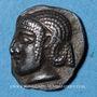 Monnaies Marseille (470-450 av. J-C). Obole phocaïque à la tête d'Apollon