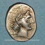 Monnaies Marseille. Drachme au caducée, 225-200 av. J-C