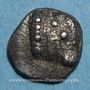 Monnaies Marseille. Hémiobole milésiaque à la tête de veau, 500-470 av. J-C. Type du trésor d'Auriol