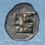 Monnaies Marseille. Hémiobole milésiaque au sanglier ailé, 500-470 av. J-C. Type du trésor d'Auriol