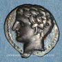 Monnaies Marseille. Obole à l'Apollon sans favoris, 310-250 av. J-C