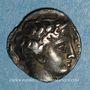 Monnaies Marseille. Obole bombée à l'éthnique MASSALI, 425-400 av. J-C