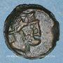 Monnaies Marseille. Petit bronze au caducée, 49-25 av. J-C