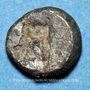 Monnaies Marseille. Trihémiobole à la tête de phoque à gauche, 470-460 av. J-C