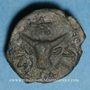 Monnaies Médiomatrices. Région de Metz. Bronze AMBACTVS, vers 60-25 av. J-C