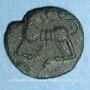 Monnaies Médiomatrices. Région de Metz. Bronze aux oiseaux, vers 60-25 av. J-C