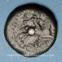 Monnaies Médiomatrices. Région de Metz. Bronze classe I, vers 60-25 av. J-C