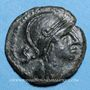 Monnaies Nemausus. Nîmes. Bronze, vers 60-40 av. J-C