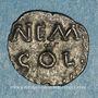 Monnaies Nemausus. Nîmes. Obole, vers 40 av. J-C