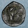 Monnaies Pictones. Région de Poitiers. Atectori . Bronze, 2e moitié du 1er siècle av. J-C
