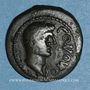 Monnaies Pictones. Région de Poitiers. Contoutos. Bronze, vers 40 av. J-C