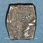 Monnaies Rutènes. Région de Rodez. Drachme au cavalier, 1er s. av. J-C