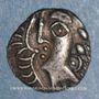 Monnaies Rutènes. Région de Rodez. Obole à la croix, 1er siècle av. J-C