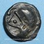 Monnaies Sénones. Région de Sens. Potin, 1er siècle av. J-C
