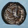 Monnaies Sénones (région de Sens) - Yllucci (2e moitié du 1er siècle av. J-C). Bronze. Inédit !