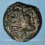 Monnaies Sénones. Région de Sens - Yllucci. Bronze,  vers 50-30 av. J-C