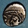 Monnaies Séquanes. Région de Besaçon. Q. Doci Sam F. Quinaire d'argent, vers 80-50 av. J-C