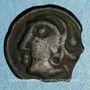 Monnaies Séquanes. Région de Besançon. Doci. Potin, vers 80-50 av. J-C