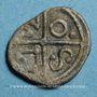 Monnaies Séquanes. Région de Besançon. Obole. 1ère moitié du 1er siècle av. J-C. R ! R ! R !