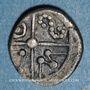 Monnaies Séquanes. Région de Besançon. Obole, vers 80-50 av. J-C. R ! R ! R !
